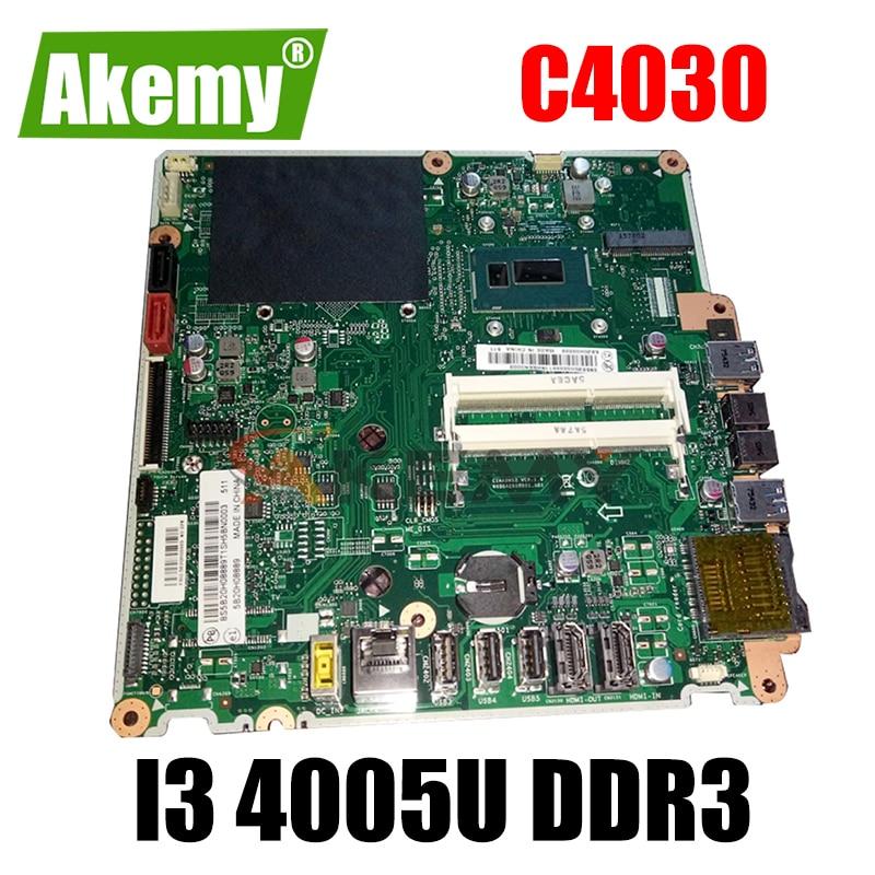 6050A2650901.A01 ينطبق على لينوفو C4030 S4030 C40-30 الكل في واحد الكمبيوتر اللوحة CPU i3 4005U DDR3 100% اختبار العمل