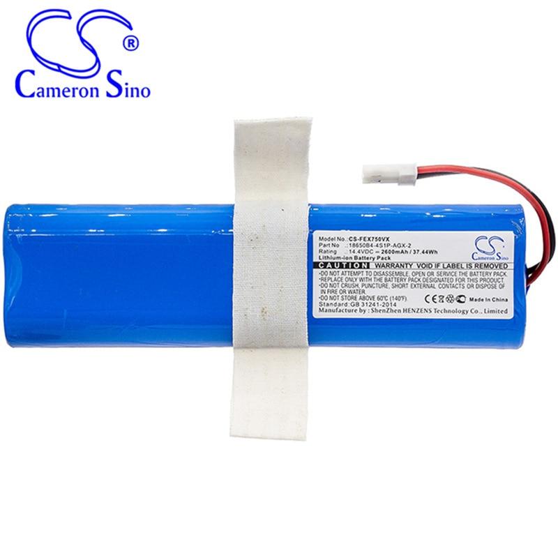 Аккумулятор Cameron Sino 2600 мАч 18650B4-4S1P-AGX-2 для ILIFE V3s Pro, V50, V5s Pro, V8s, X750