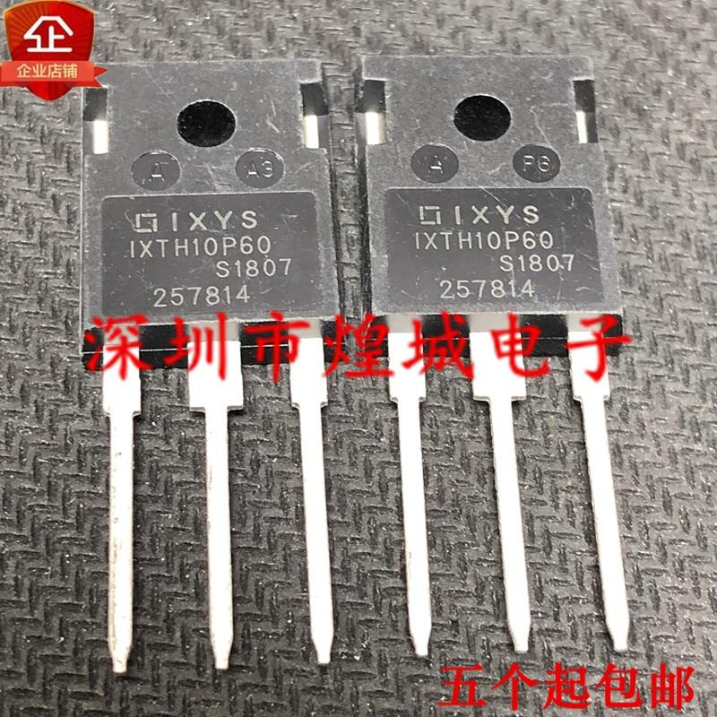 10pcs ixth10p60 to 247 600v 10a 5