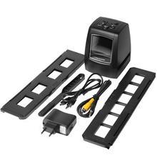 Scanner haute résolution convertit les négatifs USB diapositives convertisseur de Film numérique Portable 2.36 pouces LCD
