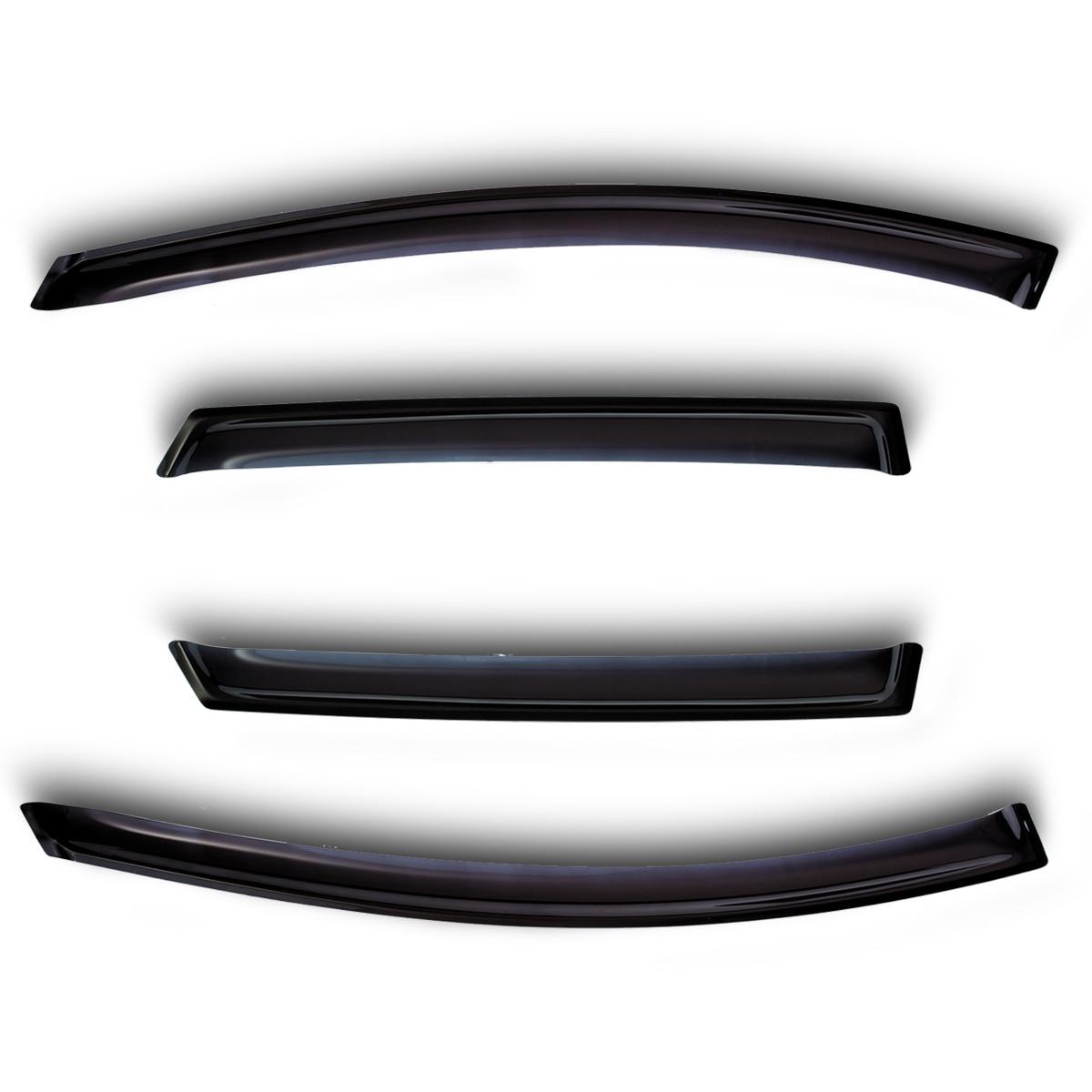 Defletores de janela 4 porta ford ranger 2006-2011/mazda bt50 2006-(ranger)