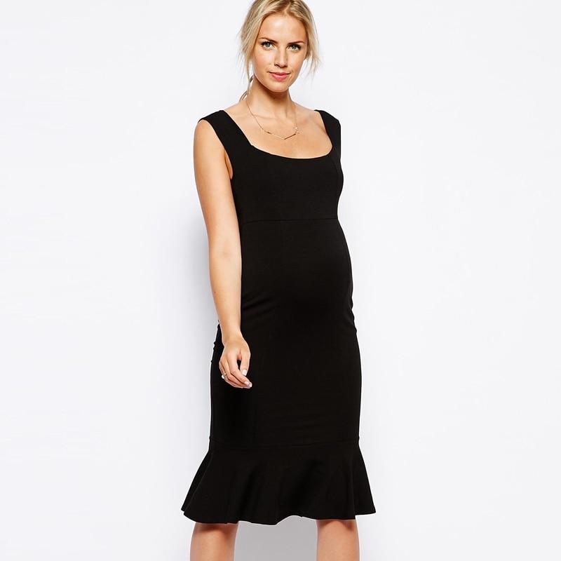 Summer Pregnant Dress Plus Size Maternity Dress Soft Cotton Summer Pregnant Dress  Pregnant Women Clothes 2569 enlarge