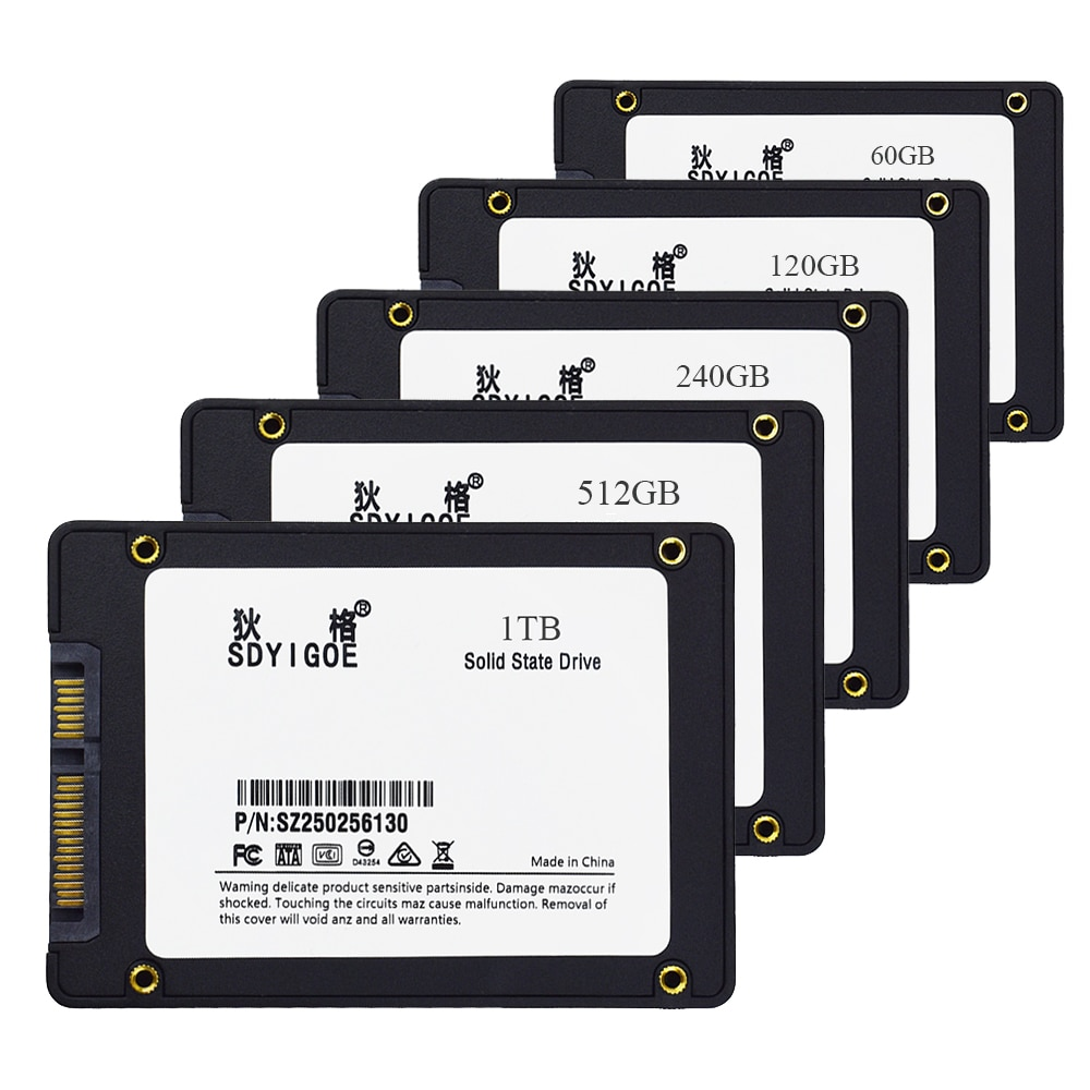 Sdyigoe ssd 240 gb 120 gb 480gb 960 gb 1tb disco rígido disco disco interno disco de estado sólido 2.5 512gb 256 gb desktop portátil