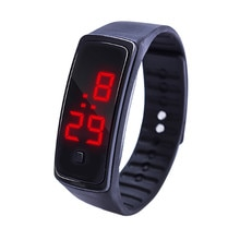 Children Watch Kids LED Digital Display Bracelet Sports Watch Students Silica Gel Sports Watch For B