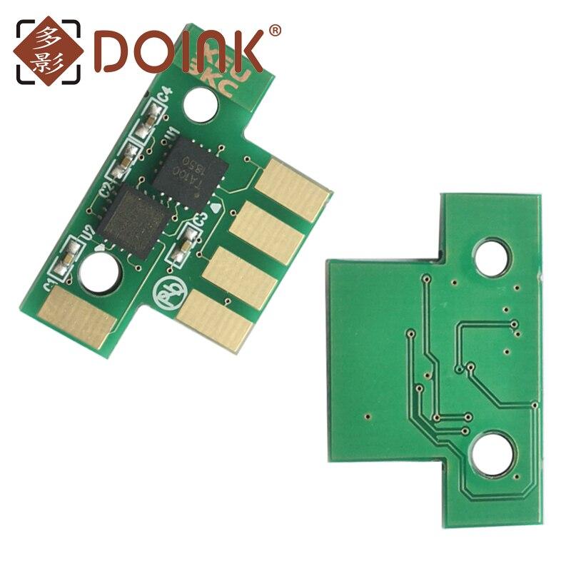 4 قطعة BK-8K CMY-4K CX510 شريحة طابعة Lexmark CX510DE CX510DTHE CX510DHE 80C2XK0 80C2XC0 80C2XM0 80C2XY0