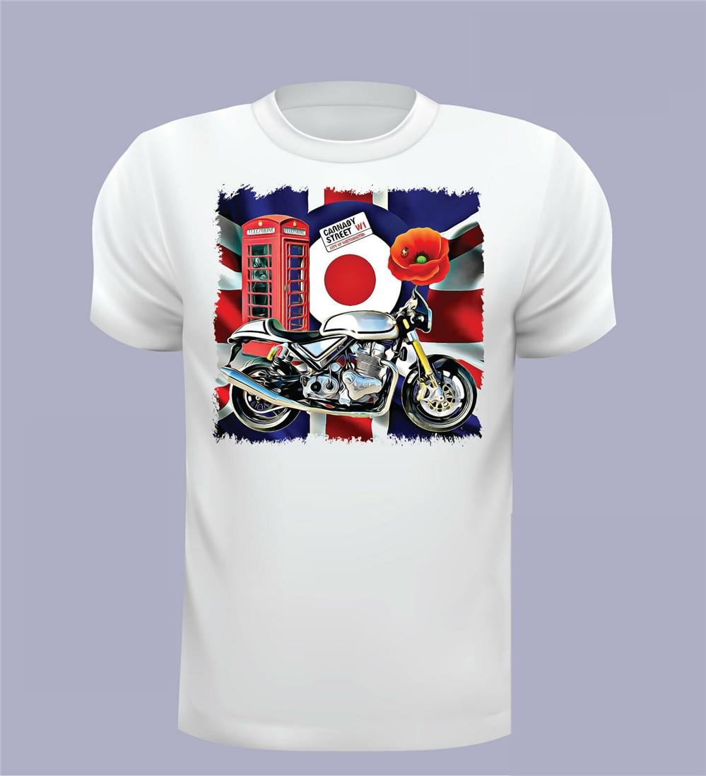 Camiseta Norton, MenS, Norton Commando, camiseta Norton no oficial, camiseta Cool Tops