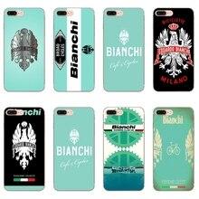 Bianchi 자전거 로고 케이스 iphone 11 pro xs max xr x 8 7 6 6 s plus 5 5 s se 실리콘 소프트 커버 케이스