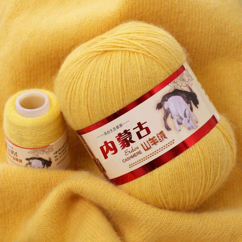Mongolischen Weiche Kaschmir Garn 100% Grob Wolle Hand-strick Reinem Kaschmir Linie Schal Hand-woven Schal Hohe Qualität 70g VS014