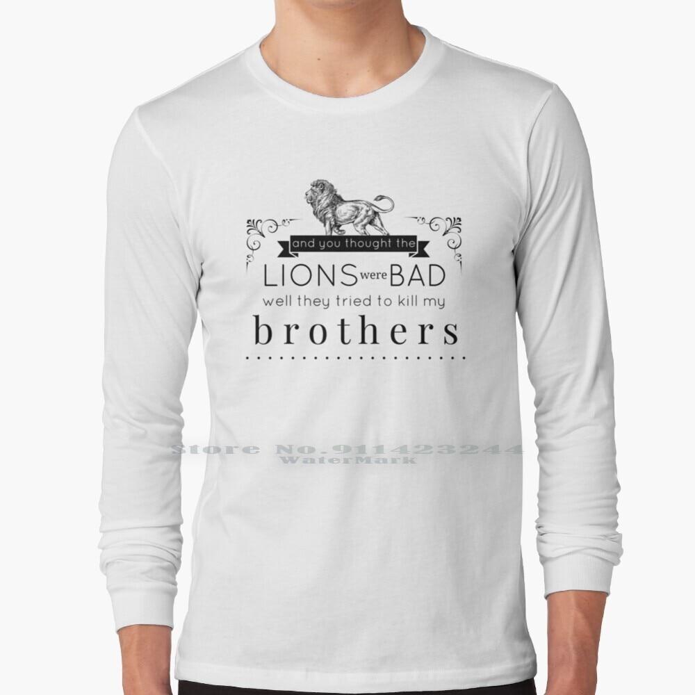 Daniel In The Den / / Long Sleeve T Shirt Tee Bastille Music Lion Indie Lyric Lyrics Dan Smith Kyle Simmons Chris Wood Will