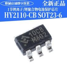10PCS/LOT   HY2110  10CB SOT-23-6 HY2110-CB  new original in stock
