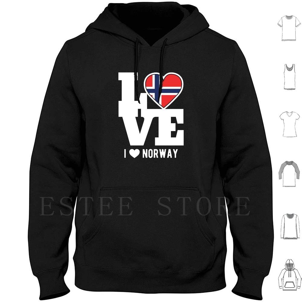 Love Norway Patriotic Norwegian Expat Hoodies Long Sleeve Norway Love Norway Patriot Patriotic Norway