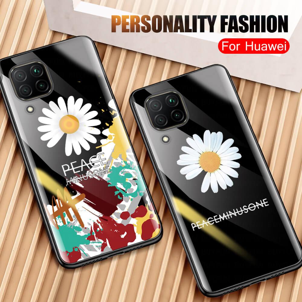 Luxury Phone Case For Huawei P40 Lite P30 Light Mate 30 Pro P Smart Z 2019 3D Flip Soft Back Cover on Hawei P 40 Pro P 30 Psmart