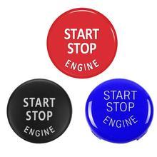 Auto Motor START-Taste Ersetzen Abdeckung STOP Schalter Zubehör Schlüssel Decor für BMW X1 X5 E70 X6 E71 Z4 E89 3 5 serie E90 E91 E60