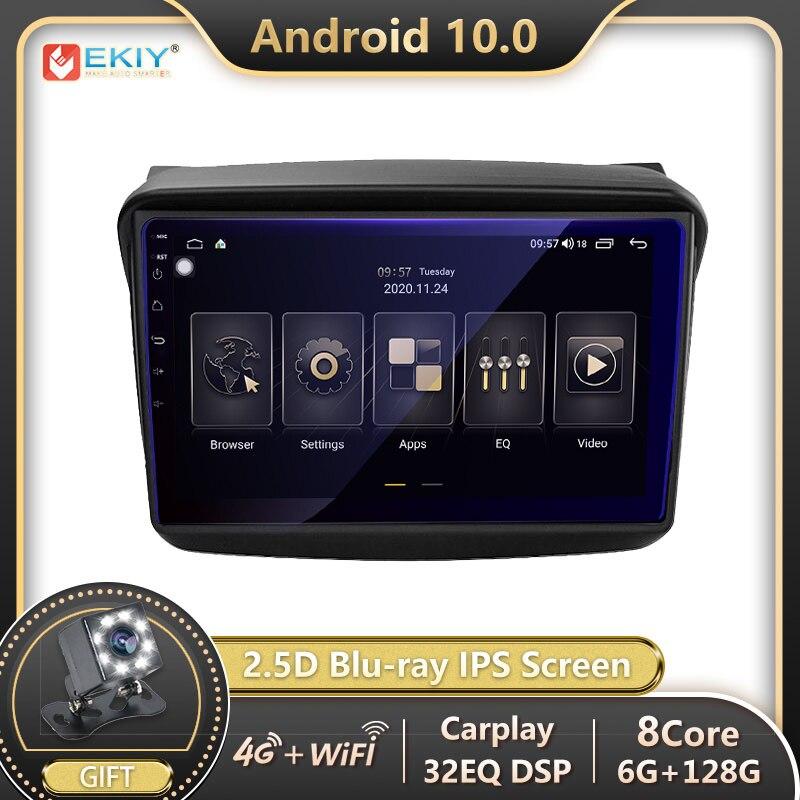 EKIY-راديو السيارة Android 10 ، DSP ، GPS ، DSP ، مشغل وسائط ، فيديو ، للسيارة MITSUBISHI PAJERO Sport/L200/2006 Triton 2008 PAJERO 2010