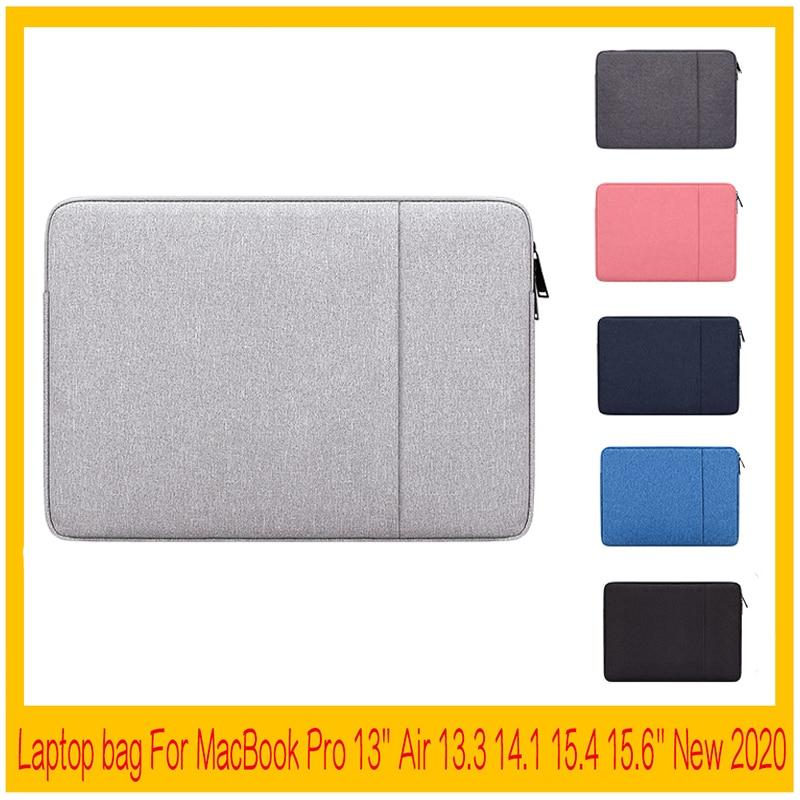 Bolsa impermeable para ordenador portátil 13 para MacBook pro 2020, funda para portátil, funda para ordenador de 11 y 15 pulgadas para HP, Lenovo, Huawei, 15,6 pulgadas