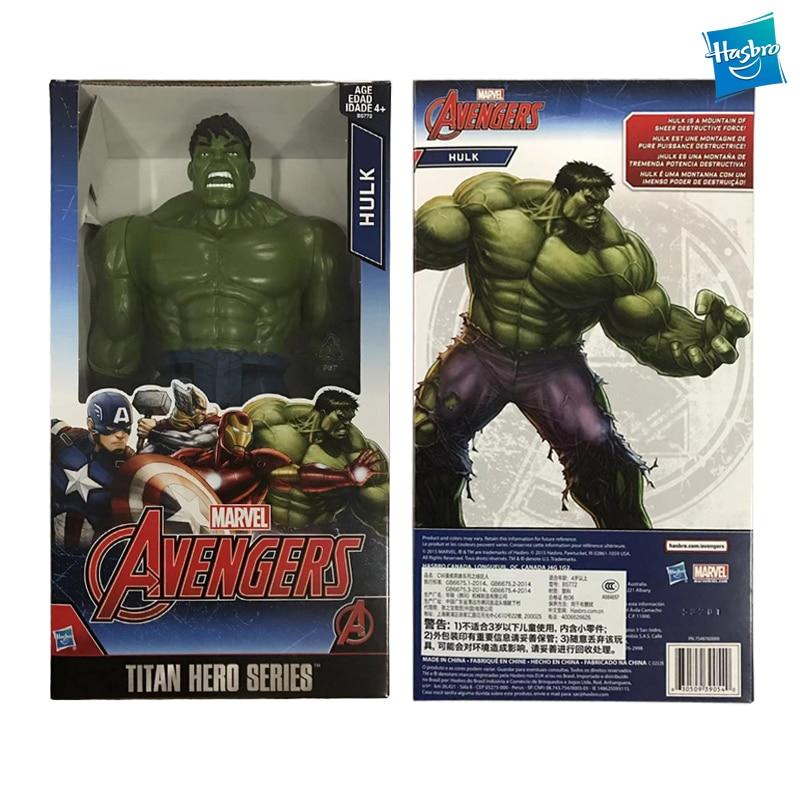 Hasbro Marvel Hero Series Figure Avengers Robert Bruce Banner Model Collection Decoration B5772 Children Gift