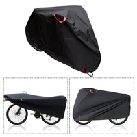 outdoor bike cover mtb road bicycle protector cover protective gear waterproof uv protection with lock hole bicycle