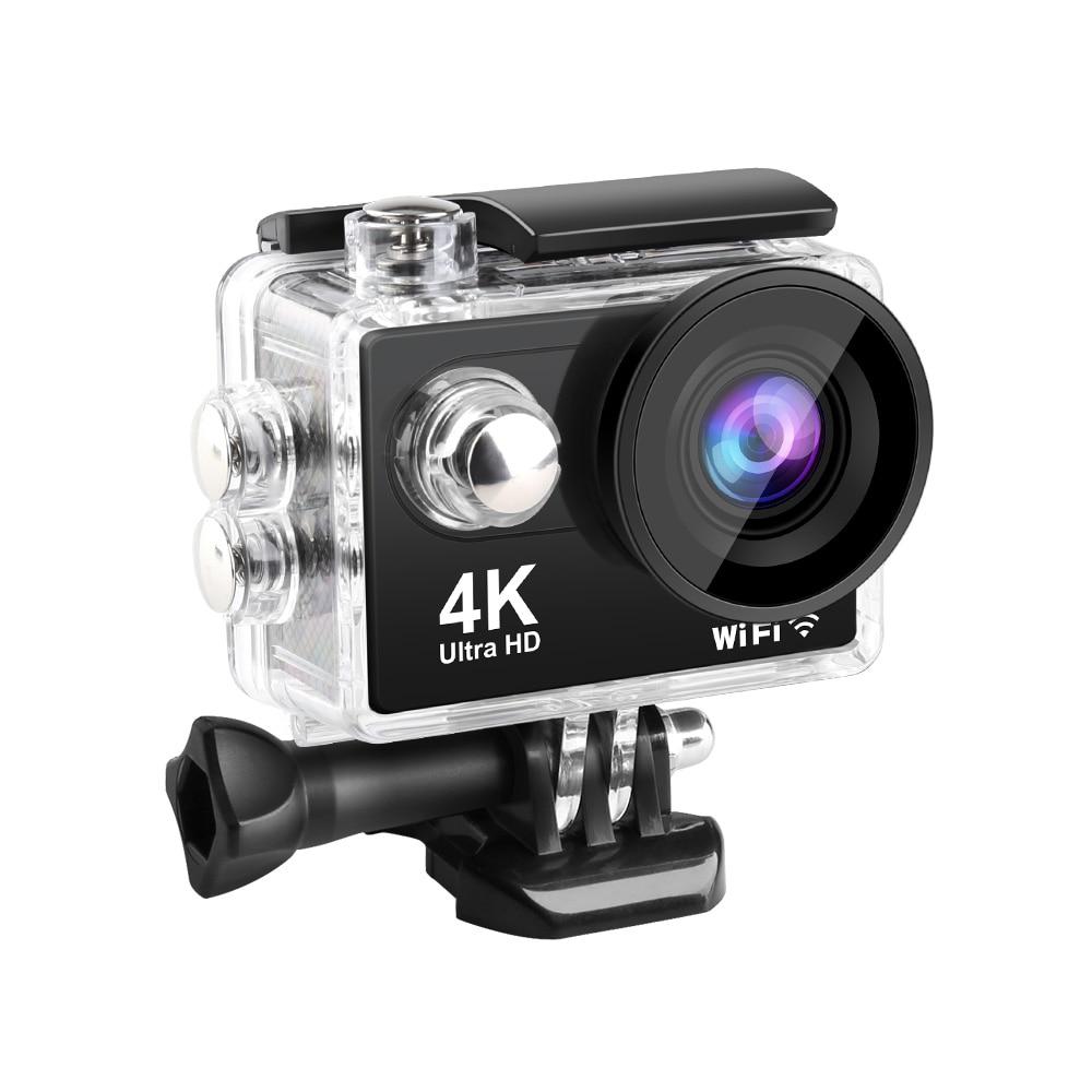 Action Camera 4K Ultra HD WiFi 2.0 inch 60fps Sport Cameras 30m Underwater Go Waterproof Pro Helmet Bike Video Recording Camera