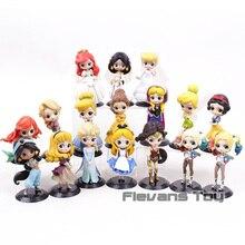 Q Posket Prinses Sneeuwwitje Alice Ariel Jasmine Assepoester Belle Rapunzel Elsa Anna Harley Quinn Wonder Vrouw Figuur Speelgoed Pop
