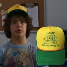 Stranger Things 3 Baseball Cap Dustin Hat 2019 New Retro Cotton Mesh Outdoor Cap Dad Cap Camp Know Where Hip Hop Hat Dropship