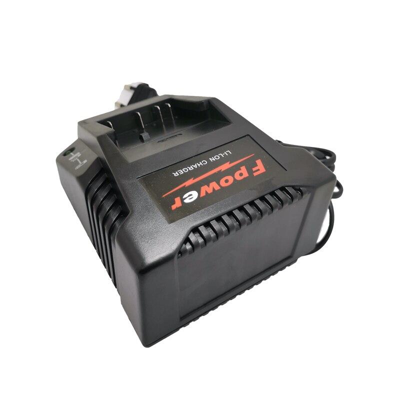 Para Bosch 14,4 V-18 V 1018K cargador de batería Li-ion para BAT609 BAT609G BAT618 BAT618G 2607336236 taladro eléctrico batteria