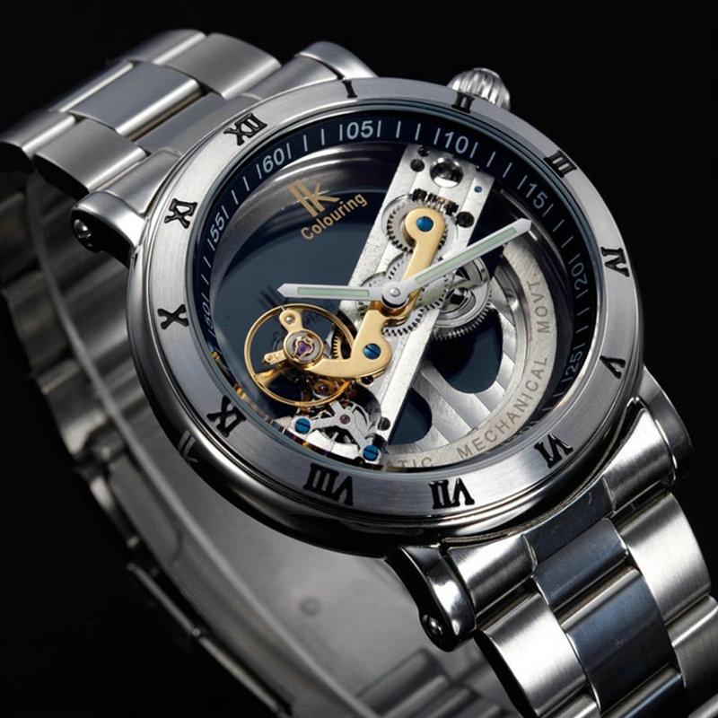 Top brand Mechanical automatic men watch Original Tourbillon Wrist watches men luxury brand skeleton reloj automatico de hombre