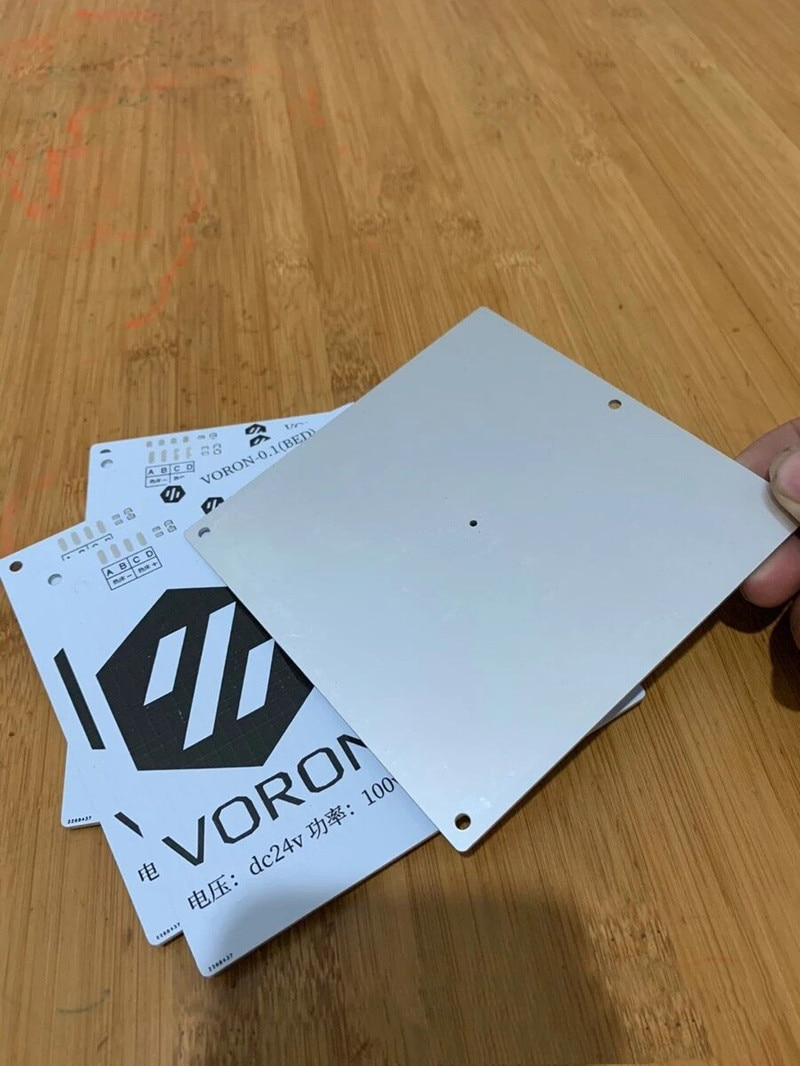 Funssor Voron 0/0.1 طابعة ثلاثية الأبعاد سرير الألومنيوم ساخنة DC24V 100 واط بناء لوحة سخان ل Voron0 0.1 Voron 2.4 mini