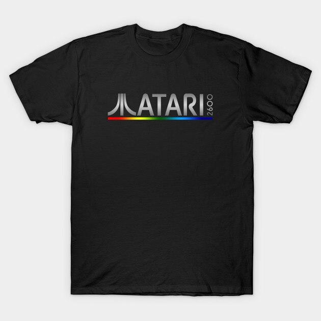 Camiseta de verano para hombre, camiseta de Atari 2600