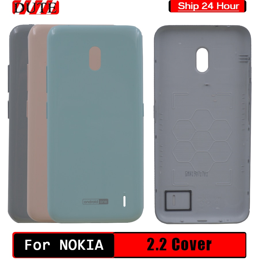 100% NEW Battery Cover For Nokia 2.2 Rear Housing Back Case For Nokia 2.2 Battery Cover Replacement For Nokia 2.2 Back Cover