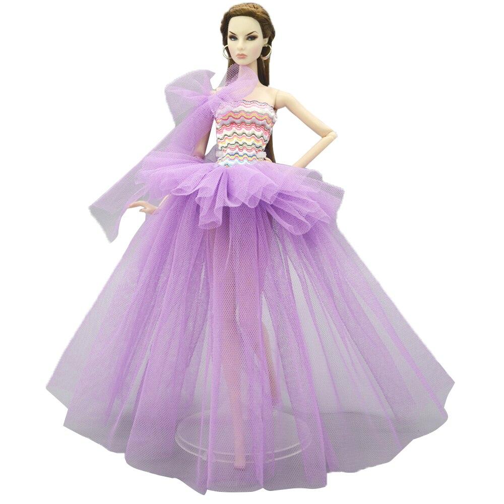 NK One Uds vestido de novia de princesa falda de diseño de encaje ropa Casual para muñeca Barbie accesorios regalo 05B 8X