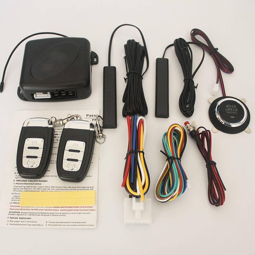 Car PKE one key start keyless entry one key start system engine ignition system 12V automatic ignition