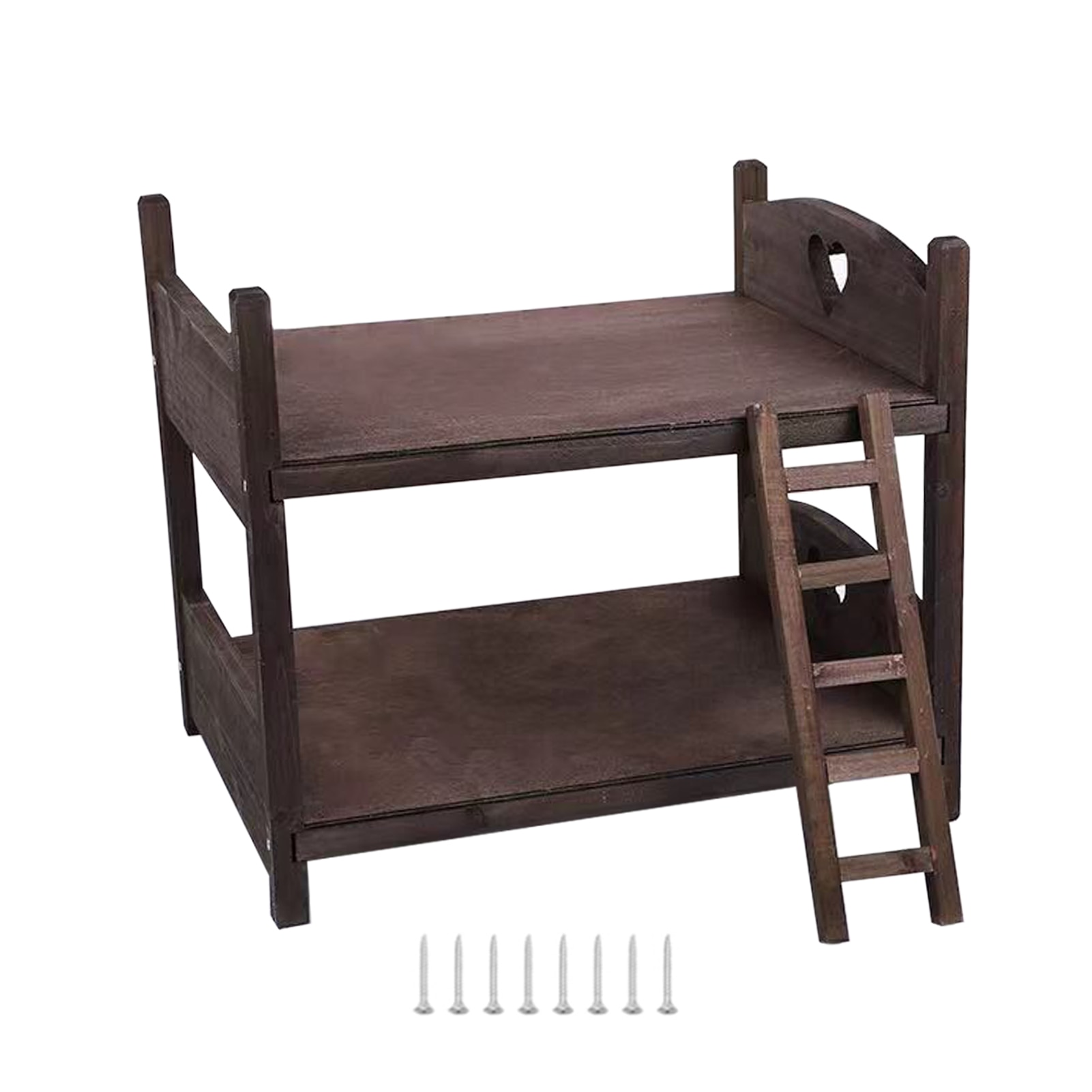 2 Layer With Screws Small Portable Wooden Cot Gift Baby Photography Bed Posing Prop Vintage Shooting Newborn Photo Studio Cute