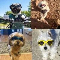 pet dog uv protection sunglasses windproof goggles pet eye wear medium large dog swimming glasses cool accessaries
