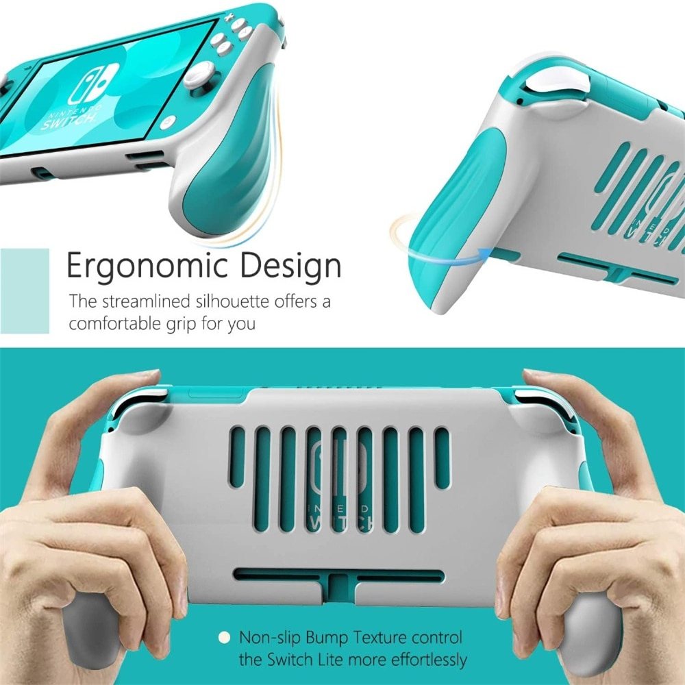 Hand Grip For Switch Lite Shock Proof Protection Cover Shell Ergonomic Handle Grip For  Switch Lite Game Grips