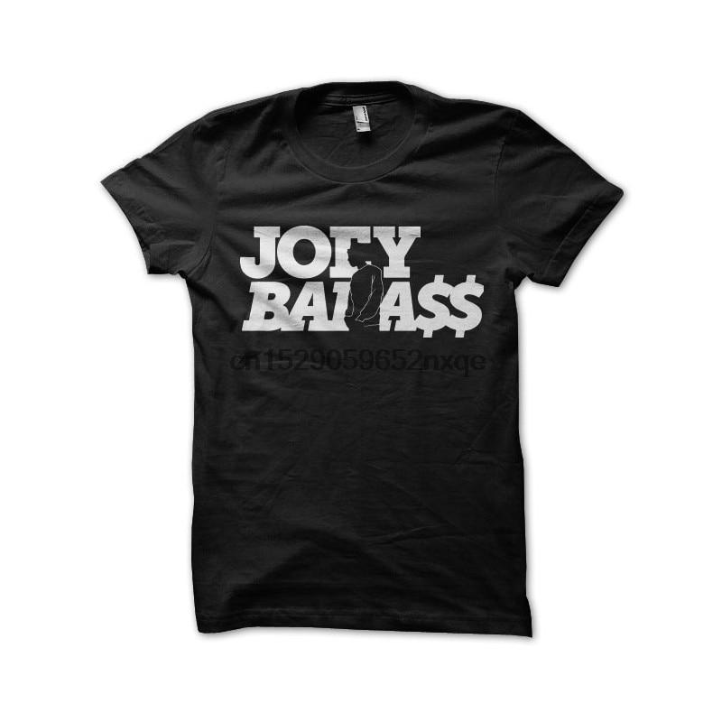 Camiseta para hombre, camiseta negra de joey, camisetas badass, camiseta para mujer