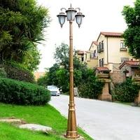 waterproof led street light yard outdoor lamp industrial garden square highway area parking lighting garden park led road lamp