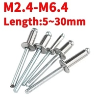 m2 4 m3 2 m4 m5 m6 4 304 stainless steel blind rivets round head pull rivets socket screws pull rivets for core decoration