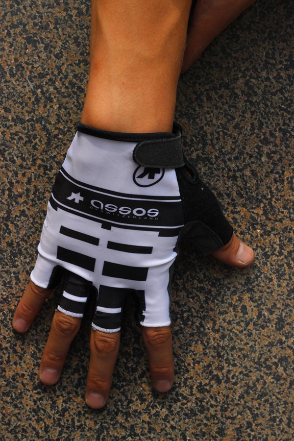 Assos Unisex Men Women Bike Cycling Gloves Half Finger Bicycle Racing Pro Gloves