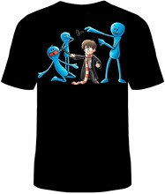 Sr. Meeseeks HARRY camiseta divertida de algodón varita de TV mágica nuevo hombres mujeres Unisex moda camiseta envío gratis
