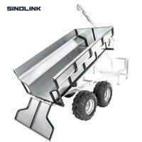 sinolink tb1000 b 1000kg capacity atv trailer timber log wood cane garden farm small tractor car with box manual winch to dump