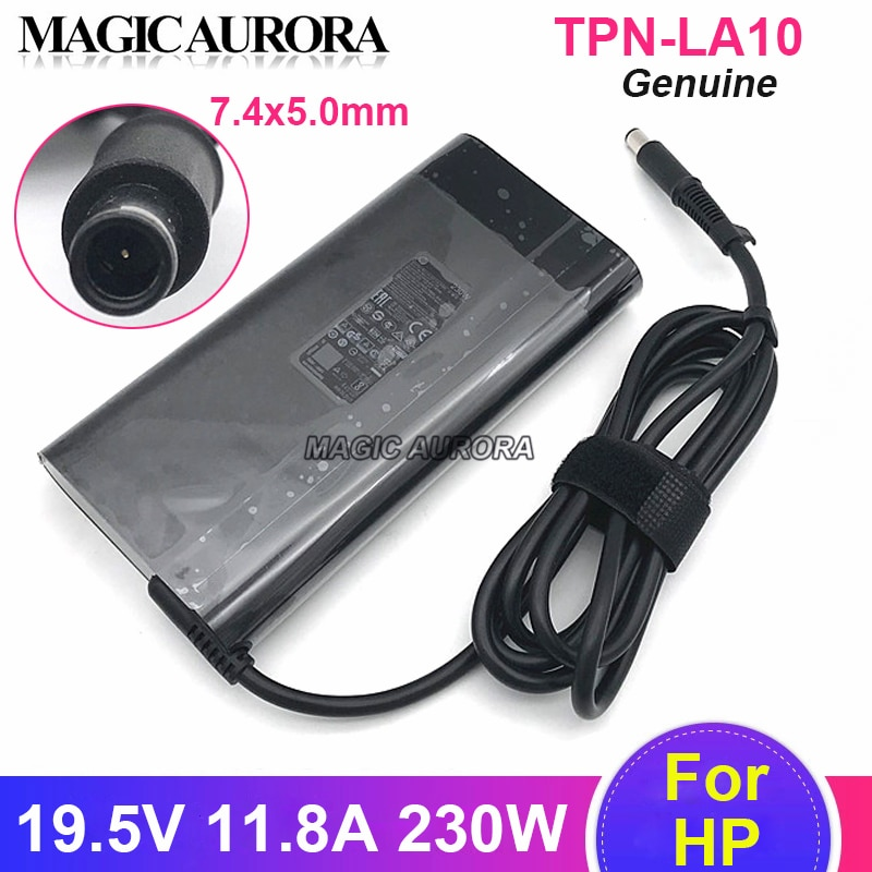 Original For HP 19.5V 11.8A PA-1231-08HT AC Adapter Charger For HP  924942-001 L38011-003 TPN-DA12 TPN-LA10 Laptop Power Supply 19 5v 16 9a 330w laptop charger ac adapter pa 1331 91 for acer predator 17x gx 791 gx 792 21x gx21 71 kp 33001 001 kp 33003 001