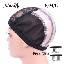 Nunify U Part Wig Cap  With Clips Wig Cap For Making Wigs With Sewing Hair Weft And Good Ventilation