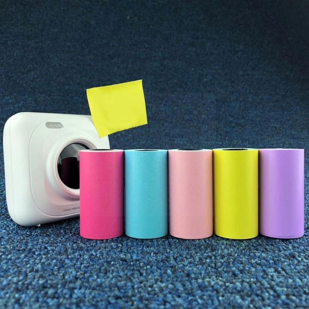 Термопечать, бумажные наклейки, самоклеящаяся пленка 57x30 мм для печати фотографий на бумаге и принтере, Пленка для ламинирования фотографий