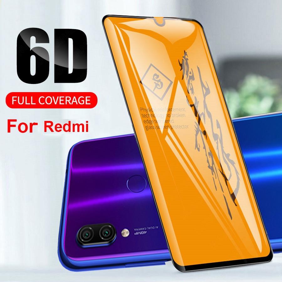 6D полное покрытие из закаленного стекла для Red mi Note 5 Global Note 7 6 Pro стекло для mi A3 A2 lite Red mi 5Plus Red mi 7 S2 Red mi 6Pro 6 6A