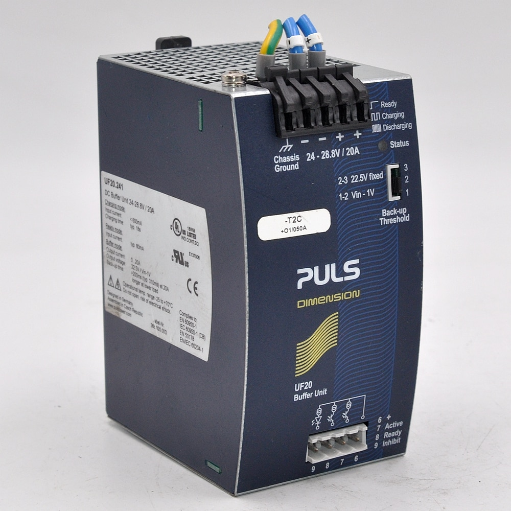 Germany imported PULS PULS control power supply UF20.241 24-28.8V 20A buffer module