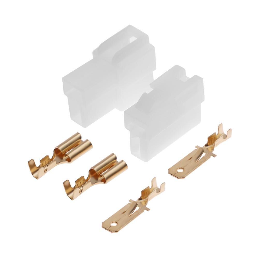 T-tipo 2 pinos dc alimentação macho e fêmea conectores plug para kenwood yaesu icom rádio walkie talkie