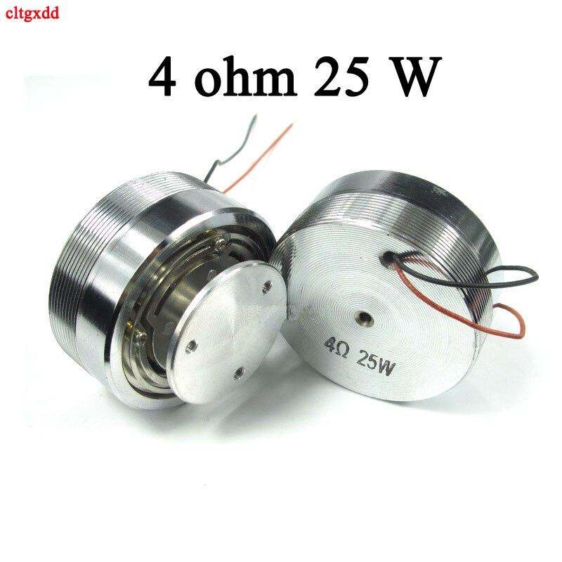 2 Polegada alto-falante de vibração de neodímio alto-falante 4r 4 ohm 25 w 2 alto-falantes 50mm de gama completa de ressonância do altifalante