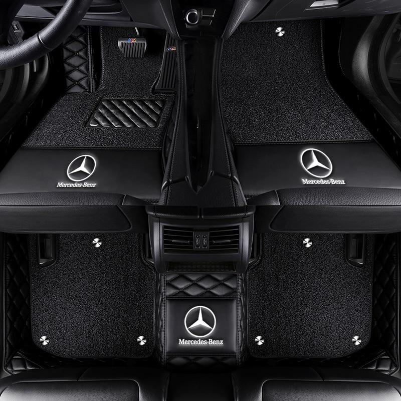 Car Floor Mat For Mercedes Slk 200 350 W170 W171 R171 R172 Accessorie Floor Mat Carpets Floor Mats Aliexpress