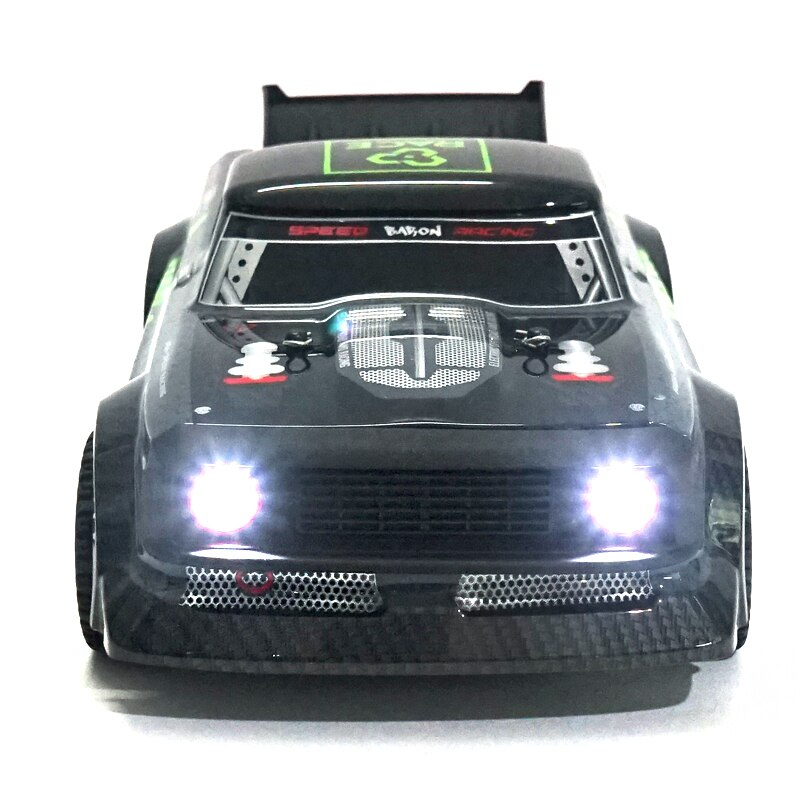 RC Car RTR 1/16 2.4G 4WD 30km/h Car Toy Kids Birthday Present LED Light Drift On-Road Proportional Control Vehicles Model Gift enlarge