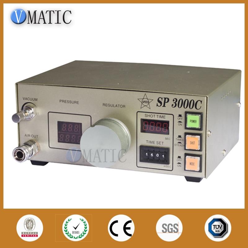Envío Gratis, dispensador automático de pegamento de 220 V, cuentagotas controlador de pasta líquida de soldadura SP3000, máquina dispensadora
